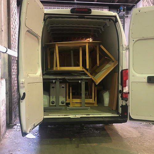 Bild zum Weblog Die Möbelpacker kommen